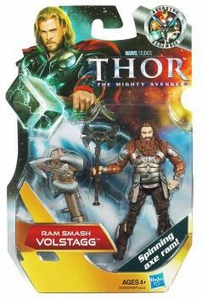 Thor Movie 4 Inch Action Figure #10 Ram Smash Volstagg