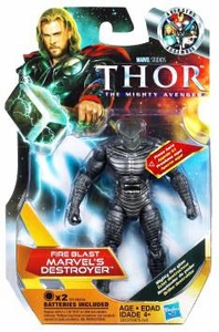 Thor Movie 4 Inch Action Figure #11 Fireblast Marvel's Destroyer