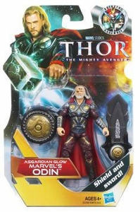 Thor Movie 4 Inch Action Figure #13 All King Odin