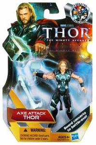 Thor Movie 4 Inch Action Figure Axe Attack Thor