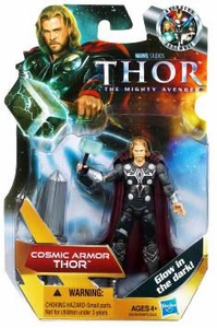 Thor Movie 4 Inch Action Figure Cosmic Armor Thor [Glow in the Dark]