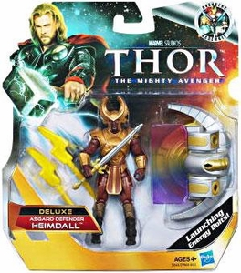 Thor Movie 4 Inch DELUXE Action Figure Heimdall [Asgard Defender]