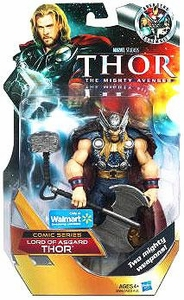 Thor Mighty Avenger COMIC Exclusive 6 Inch Action Figure Lord of Asgard Thor