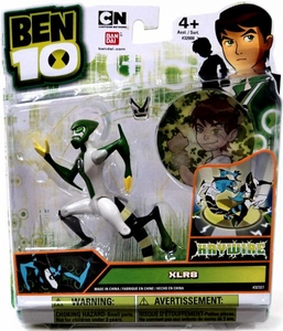 Ben 10 Ultimate Alien 4 Inch Action Figure XLR8 HAYWIRE [Includes Minifigure]