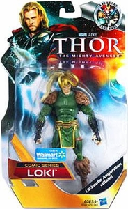 Thor Mighty Avenger COMIC Exclusive 6 Inch Action Figure Loki