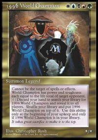 Magic the Gathering Other Promo Card 1996 World Champion