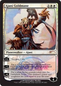 Magic the Gathering Other Promo Card Ajani Goldmane [2011 Pro Tour Promo]