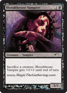 Magic the Gathering Other Promo Card Bloodthrone Vampire [2011 Convention Promo]