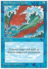 Magic the Gathering Other Promo Card Blue Elemental Blast [Book Promo]