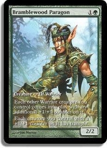 Magic the Gathering Other Promo Card Bramblewood Paragon [Extended Art]