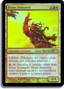 Magic the Gathering Other Promo Card Brion Stoutarm [Wal-Mart Foil]