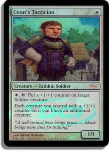 Magic the Gathering Other Promo Card Cenn's Tactician [Gateway Foil]