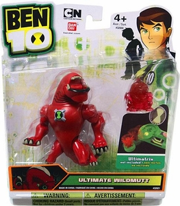 Ben 10 Alien 4 Inch Action Figure Ultimate Wildmutt [Includes Minifigure For Revolution Ultimatrix]