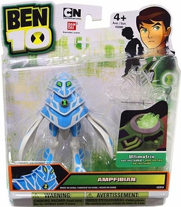 Ben 10 Alien 4 Inch Action Figure Ampfibian