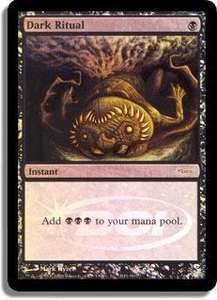 Magic the Gathering Other Promo Card Dark Ritual [Foil Judge Promo]