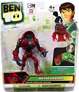 Ben 10 Alien 4 Inch Action Figure Water Hazard [Includes Minifigure For Revolution Ultimatrix]