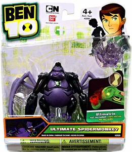 Ben 10 Alien 4 Inch Action Figure Ultimate Spidermonkey [Includes Minifigure For Revolution Ultimatrix]