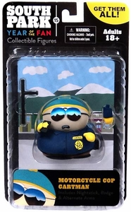 Mezco Toyz South Park Classics Series 3 Action Figure Motorcycle Cop Cartman