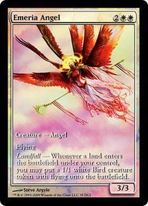 Magic the Gathering Other Promo Card Emeria Angel [Zendikar Game Day]