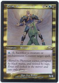 Magic the Gathering Other Promo Card Ertai, the Corrupted [Alternate Art Foil]