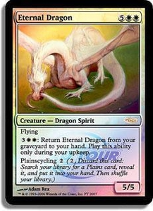 Magic the Gathering Other Promo Card Eternal Dragon [Pro Tour Promo]