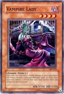YuGiOh Ancient Sanctuary Single Card Common AST-013 Vampire Lady