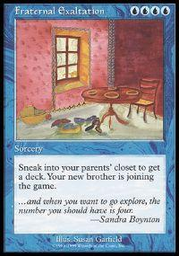 Magic the Gathering Other Promo Card Fraternal Exaltation