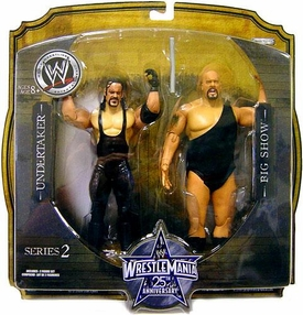 WWE Wrestlemania 25 Series 2 Action Figure 2-Pack Big Show & Undertaker