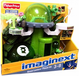 Imaginext DC Super Friends Green Lantern Planet OA Playset [Includes Kilowog Figure!]