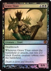 Magic the Gathering Other Promo Card Grave Titan [Duels of the Planeswalkers 2012 Xbox Live Arcade Promo]