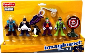 Imaginext DC Super Friends Set 4-Pack Villains [Mr. Freeze, Penguin, Joker & Riddler]