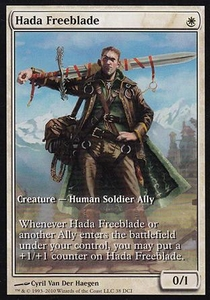 Magic the Gathering Other Promo Card Hada Freeblade [Worldwake Game Day]