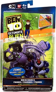 Ben 10 Ultimate Alien Exclusive 4 Inch Action Figure 2-Pack Ultimate Spidermonkey & Vulkanus