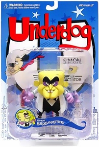 Mezco Toyz Underdog Action Figure Simon Bar Sinister
