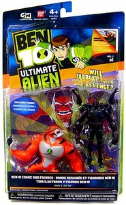 Ben 10 Ultimate Alien Exclusive 4 Inch Action Figure 2-Pack Rath & Six Six