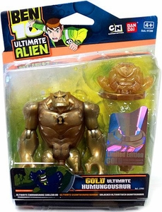 Ben 10 Limited Edition 4 Inch Action Figure GOLD Humungousaur