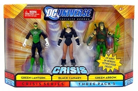 DC Universe Infinite Heroes Crisis Action Figure 3-Pack Green Lantern {Hal Jordan}, Black Canary & Green Arrow