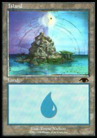 Magic the Gathering Other Promo Card Island [Guru]