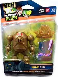 Ben 10 Limited Edition 4 Inch Action Figure GOLD NRG