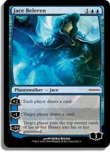 Magic the Gathering Other Promo Card Jace Beleren  [Book Promo]