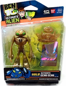 Ben 10 Limited Edition 4 Inch Action Figure GOLD Echo Echo