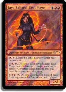 Magic the Gathering Other Promo Card Jaya Ballard, Task Mage [Wal Mart Promo]