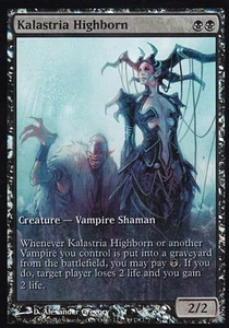 Magic the Gathering Other Promo Card Kalastria Highborn [Worldwake Game Day]