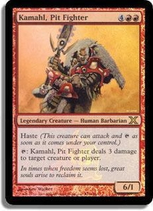 Magic the Gathering Other Promo Card Kamahl, Pit Figher [15th Anniversary Promo]