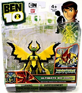 Ben 10 Ultimate Alien 4 Inch Action Figure Ultimate Big Chill HAYWIRE [Includes Minifigure]