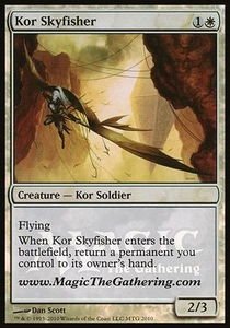 Magic the Gathering Other Promo Card Kor Skyfisher [Media Promo]