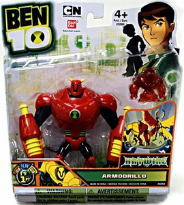 Ben 10 Ultimate Alien 4 Inch Action Figure Armodrillo HAYWIRE [Includes Minifigure]