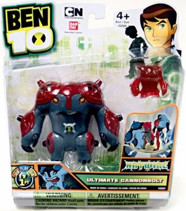 Ben 10 Ultimate Alien 4 Inch Action Figure Ultimate Cannonbolt HAYWIRE [Includes Minifigure]