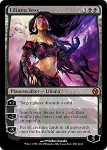 Magic the Gathering Other Promo Card Liliana Vess [Duels of the Planeswalkers [PS3]]