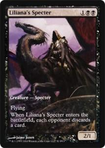 Magic the Gathering Other Promo Card Liliana's Specter [Magic 2011 Game Day]